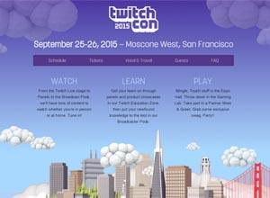 TwitchCon 2015