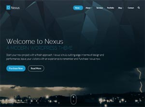 Nexus – Multi/One-Page Business WordPress Theme