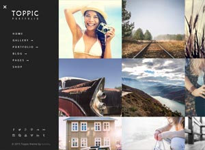 TopPic: Portfolio WordPress Theme