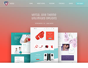 Verso – Responsive Multi Purpose WordPress Theme
